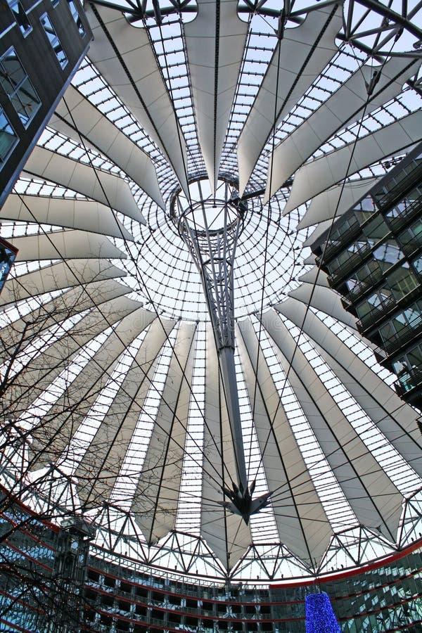 结构现代屋顶 库存图片
