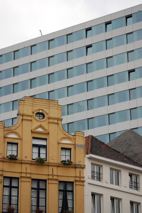 结构现代的布鲁塞尔 库存图片