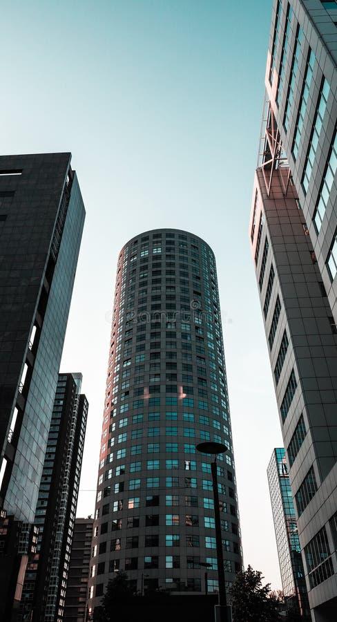结构现代荷兰 免版税库存图片