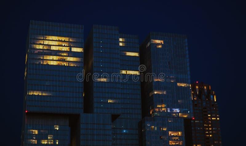 结构现代荷兰 库存图片