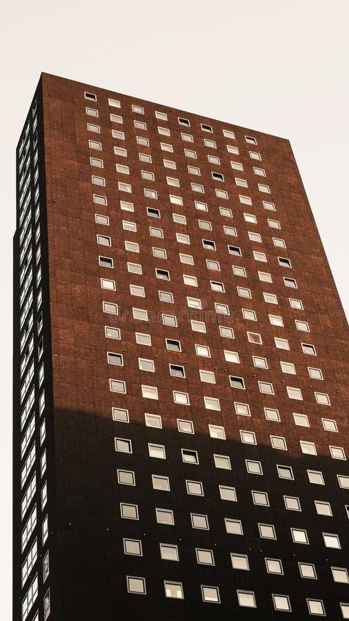 结构现代荷兰 免版税库存照片