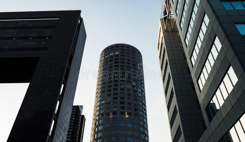 结构现代荷兰 图库摄影