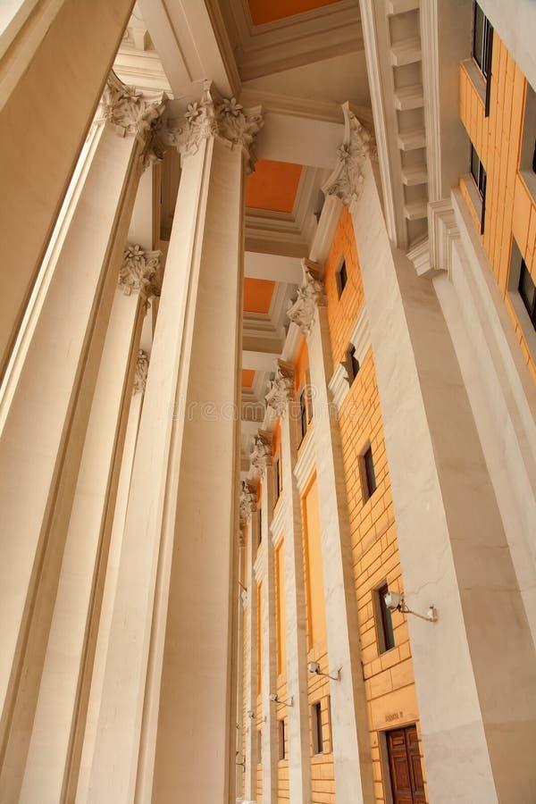 结构莫斯科剧院 库存图片