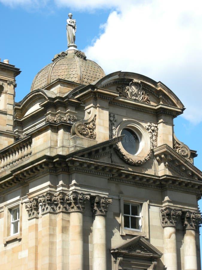 结构详细资料爱丁堡 免版税库存照片