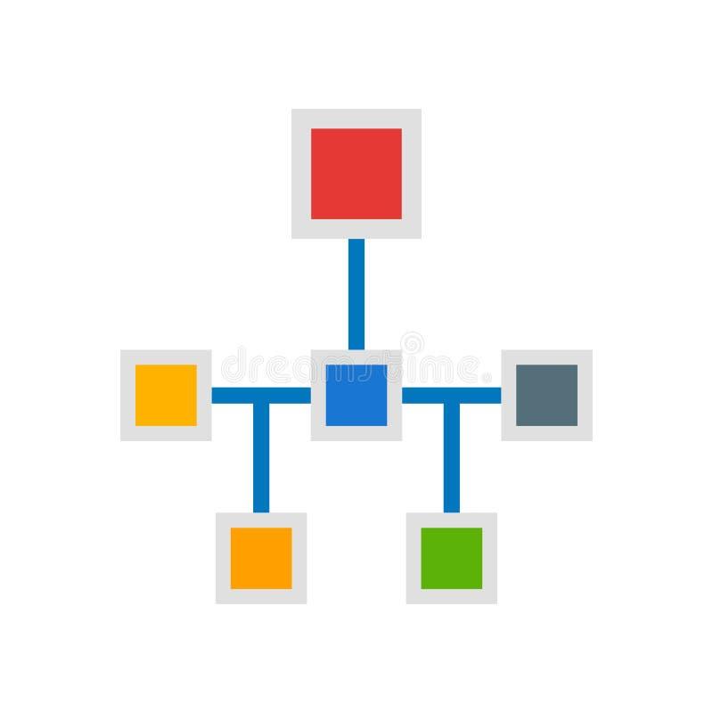 结构象在白色背景和标志隔绝的传染媒介标志 皇族释放例证
