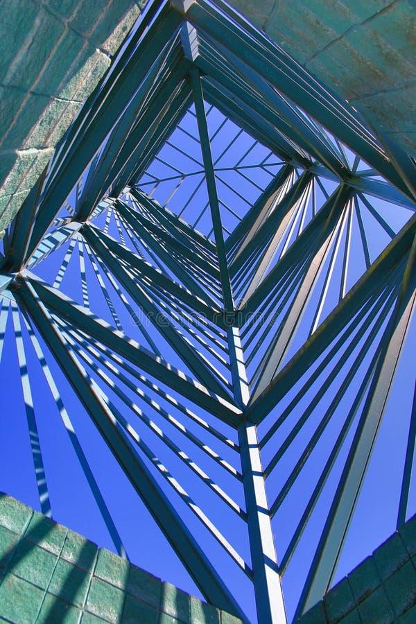 结构金属 库存照片
