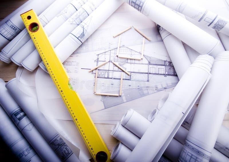 结构项目 免版税图库摄影