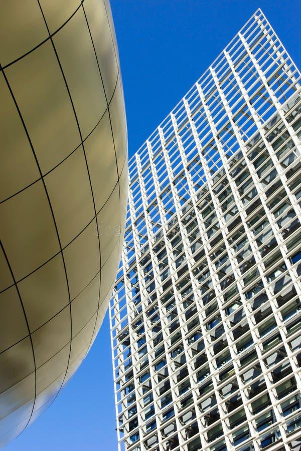 结构香港现代公园科学 免版税库存图片