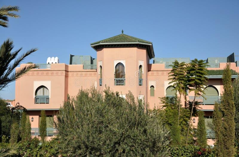 结构马拉喀什 库存图片