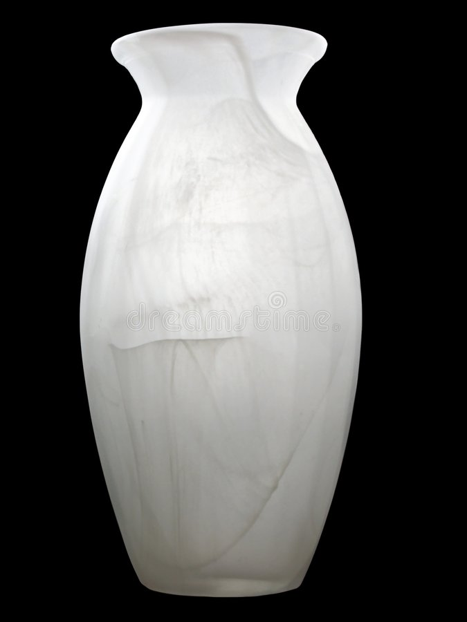 结霜的花瓶 免版税图库摄影