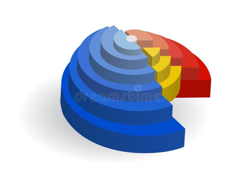 绘制例证辐形向量 皇族释放例证