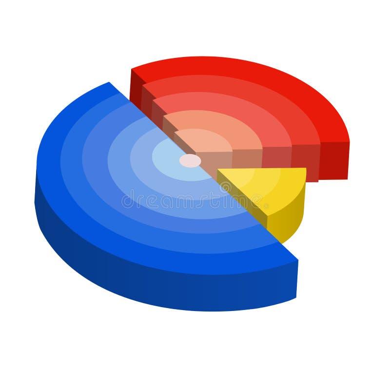 绘制例证辐形向量 库存例证