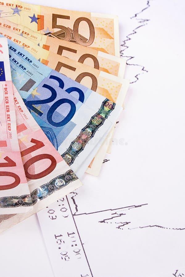 绘制欧元 免版税库存照片