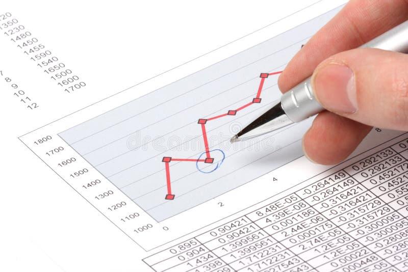 绘制笔陈列 免版税库存图片