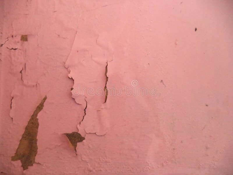 绘削皮墙壁照片 库存照片