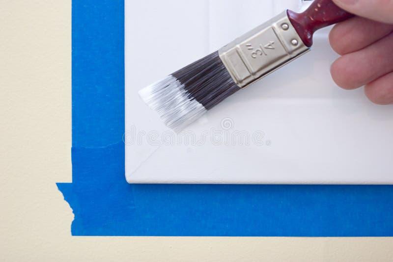 绘画修整视窗 免版税库存图片