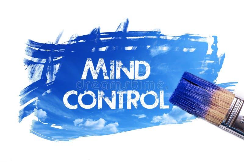 绘画心理控制词 库存例证