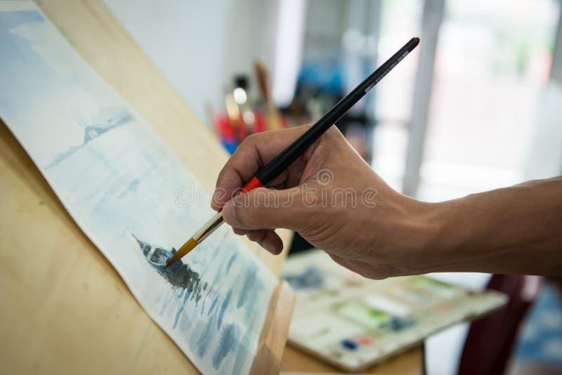 绘画水彩 库存图片