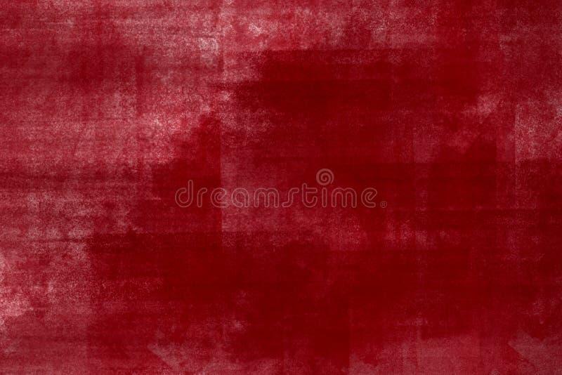 绘红色 皇族释放例证