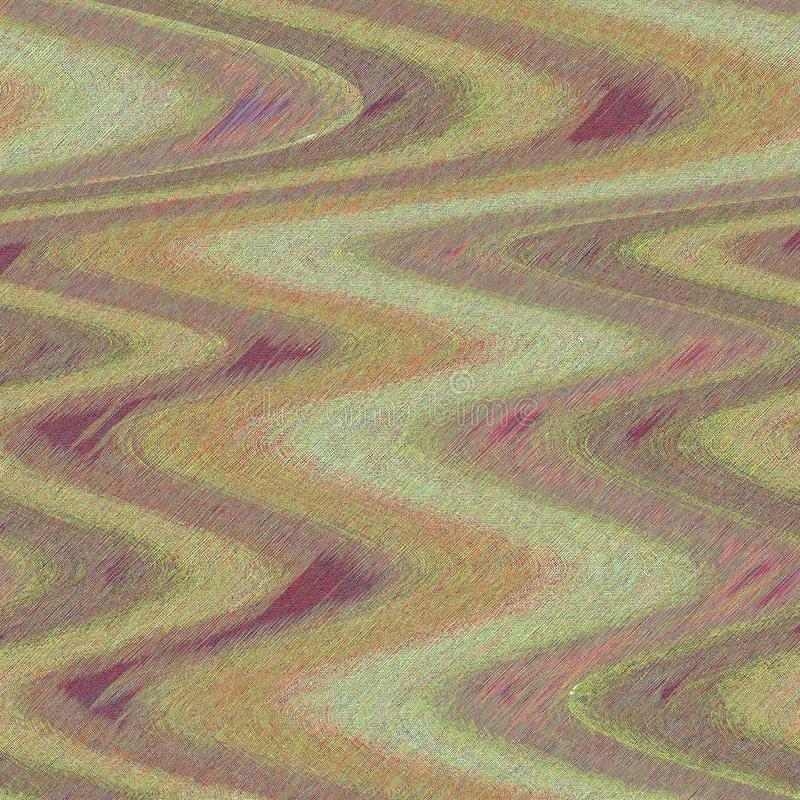 绘艺术品的被设色的油漆作用 与概略的柔和的淡色彩作用的波浪艺术品 装饰的,内部被构造的背景 库存图片