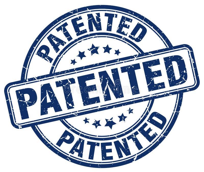给予专利的印花税 皇族释放例证