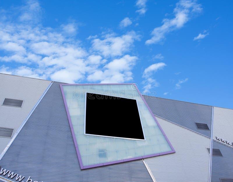 Download 给在大厦的广告牌做广告 库存照片. 图片 包括有 公司, 陈列, 云彩, 建筑, 的bicep, 国界的 - 15683376