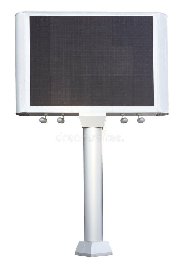 给电子面板做广告 库存图片