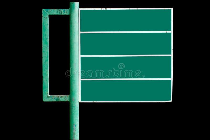 给绿色符号做广告 库存照片