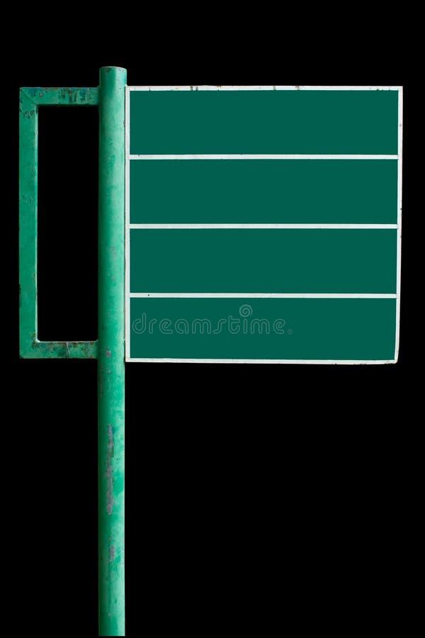 给绿色符号做广告 免版税库存照片