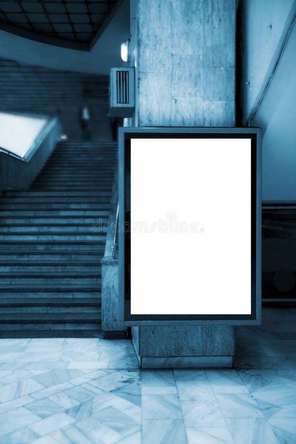 给面板做广告 库存图片
