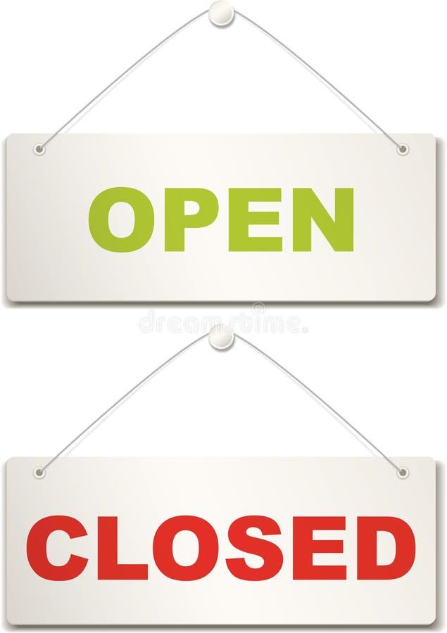 绝密开放符号 向量例证