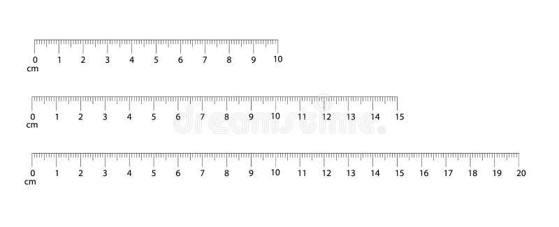 统治者移动和公尺统治者 评定的工具 厘米和英寸刻度尺cm度规显示 a的标度 皇族释放例证