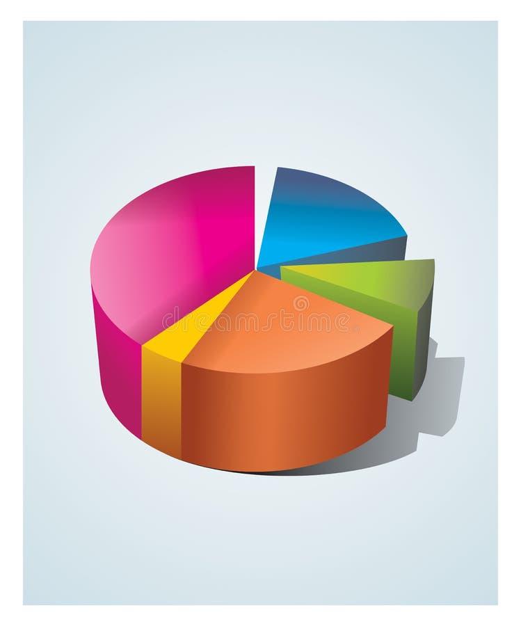 统计数据 向量例证