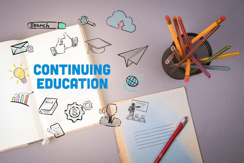 继续教育概念 免版税库存照片
