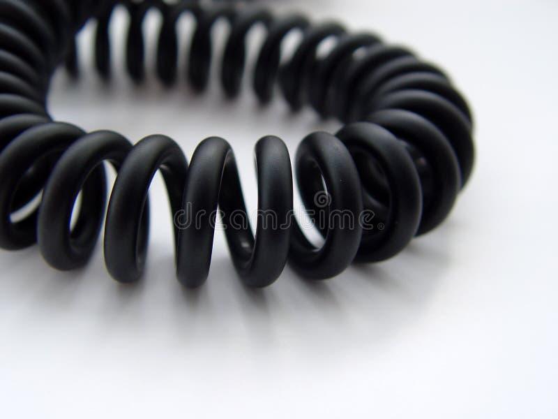 绳子电话 免版税图库摄影