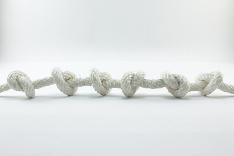 绳索和结 免版税库存图片