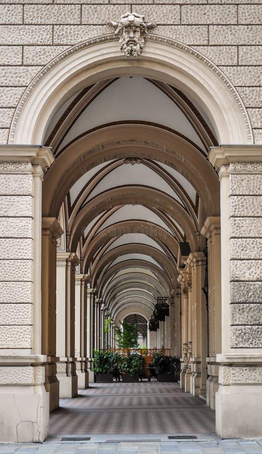 维也纳段落 免版税库存照片