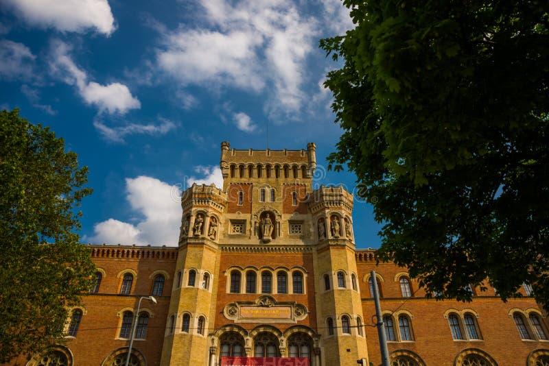 维也纳,奥地利:维也纳武库-军史Heeresgeschichtliches博物馆博物馆大厦  免版税库存图片