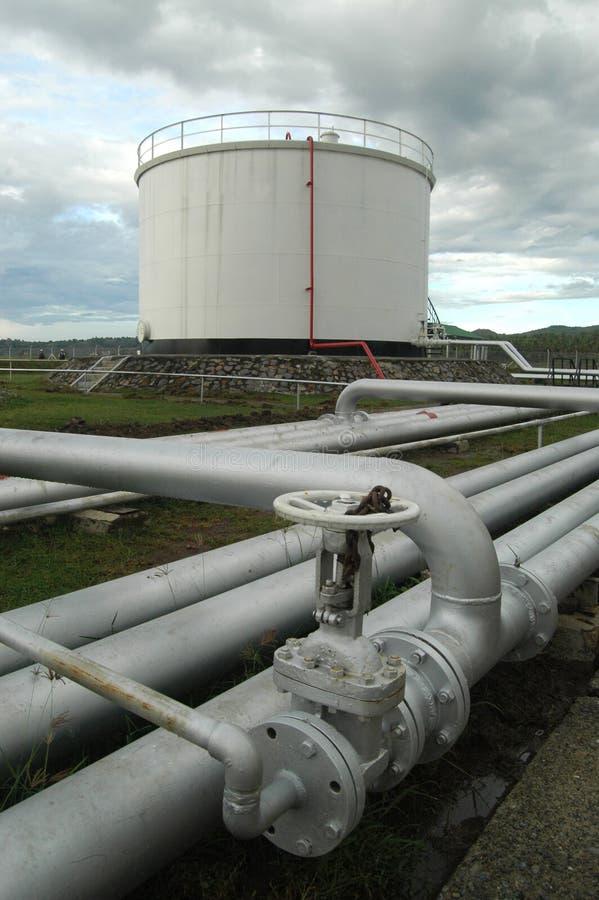 维修站燃料 库存图片