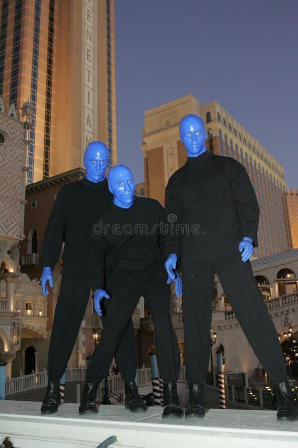 维加斯Blueman 库存图片