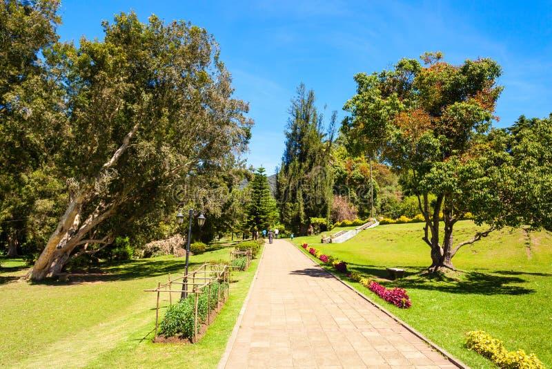 维多利亚公园,努沃勒埃利耶 免版税库存图片