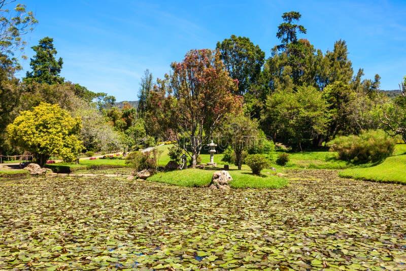 维多利亚公园,努沃勒埃利耶 免版税库存照片