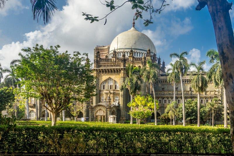 维多利亚博物馆在孟买,印度 免版税图库摄影