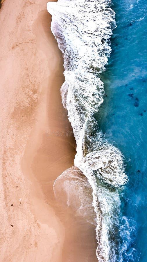 维多利亚海滩 免版税库存图片