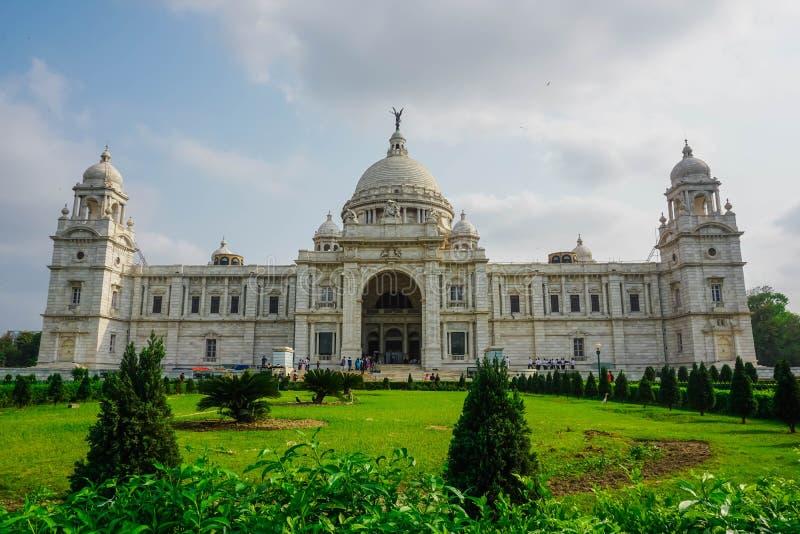 维多利亚纪念品 加尔各答,西孟加拉邦,印度 库存照片