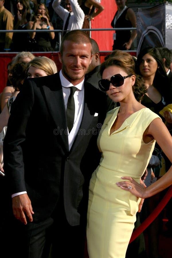 维多利亚Beckham 免版税库存照片
