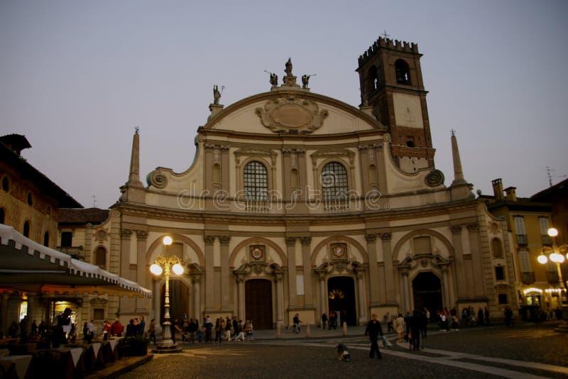 维杰瓦诺,伦巴第北意大利,帕尔瓦省  免版税库存图片