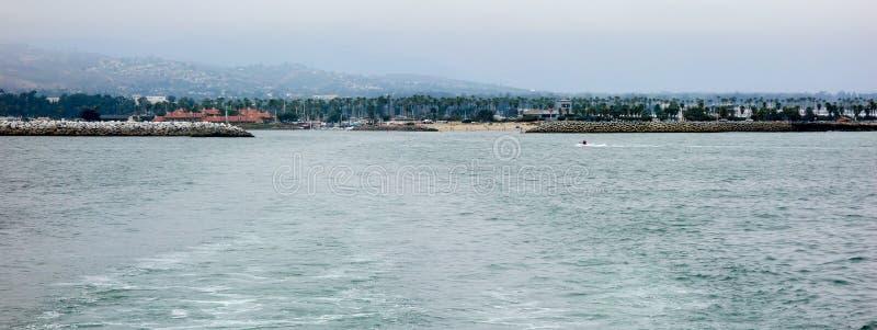 维特纳都市风景从海洋的 免版税库存照片