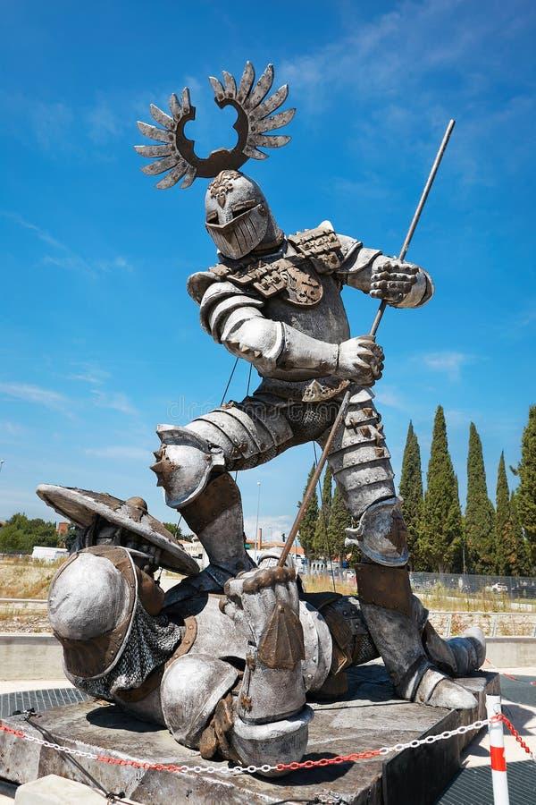维罗纳,意大利- 2017年8月17日:战斗争论者 竞技场二维罗纳节日 歌剧表现细节  免版税图库摄影