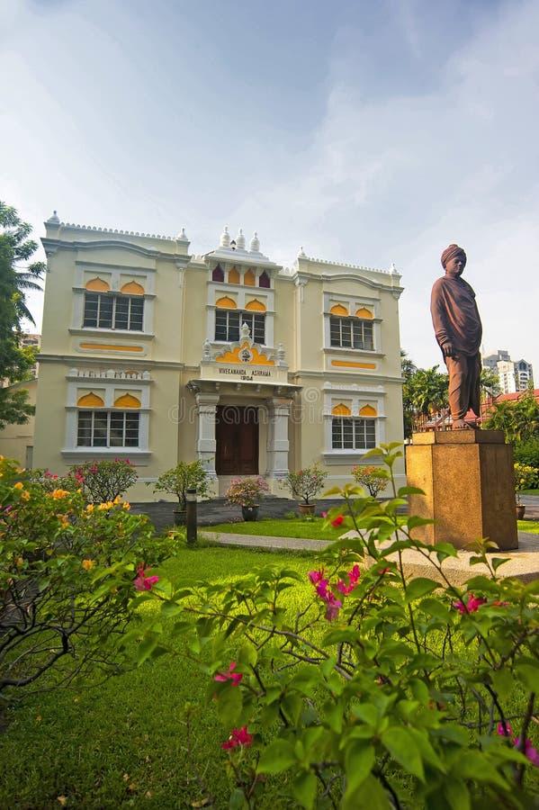 维韦卡南达聚会所砖厂-吉隆坡 免版税库存图片